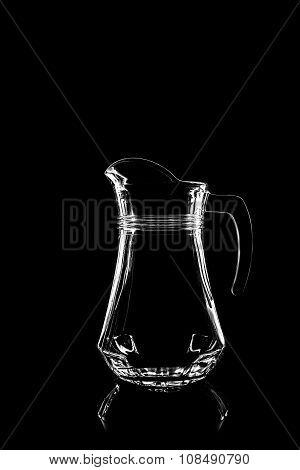 Transparent Glass For Juice