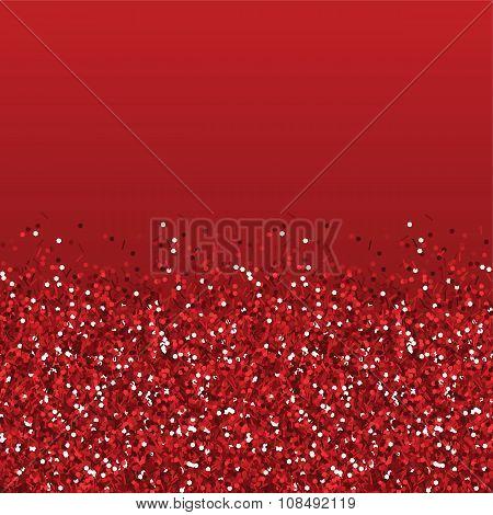 Glitter red texture.