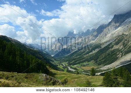 Courmayeur Valley