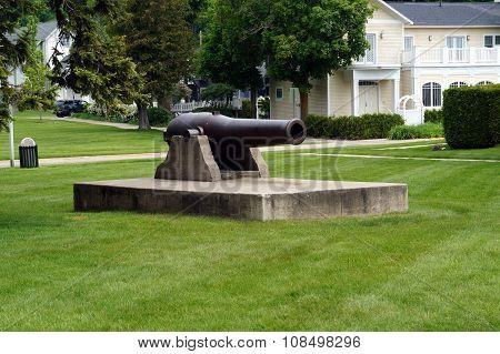 Zorn Park Cannon