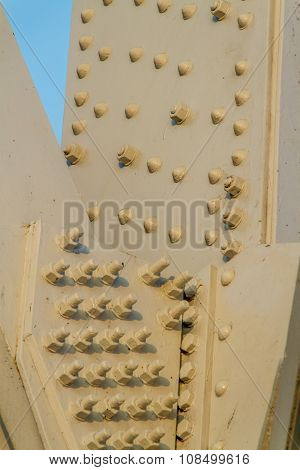 Bolted Supports on a Steel Frame Bridge