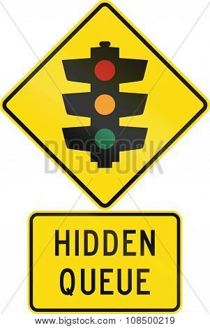 Road Sign Assembly In New Zealand - Hidden Queue