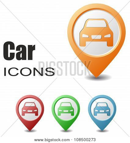 Set Car Map Pointers