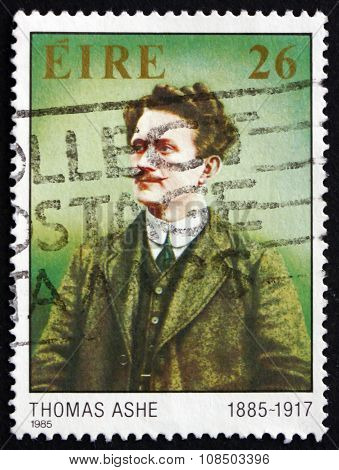 Postage Stamp Ireland 1985 Tomas Ashe, Patriot And Educator