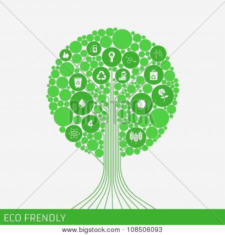Eco Green Tree