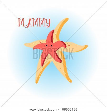 illustration colorful star