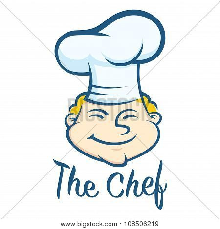 Happy Chef Face Symbol