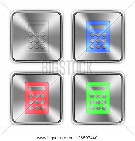 Color Calculator Steel Buttons