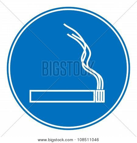 Sign Smoking Allowed,