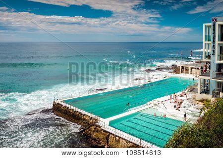 Bondi Beach Open Swimming Pool