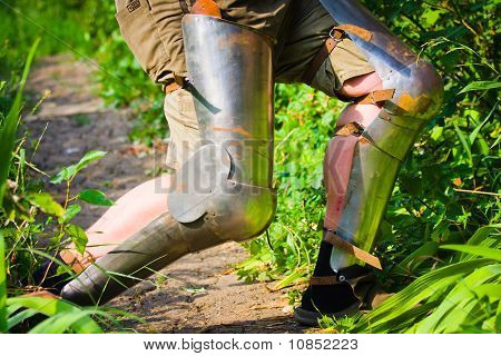 Feet In Chivalrous Protection