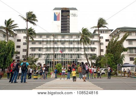 Manila Hotel in Manila, Philippines
