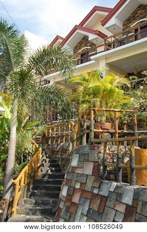 Cherubin Gardens guest house in Bulacan, Philippines