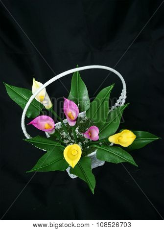 Handmade Product, Clay Flower, Artificial Flowers