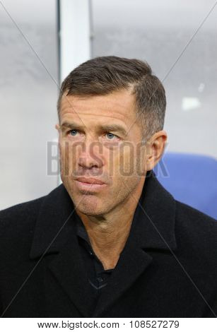 Head Coach Of Slovenia National Football Team Srecko Katanec