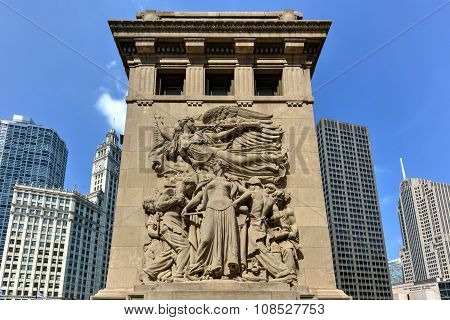 Michigan Avenue Bridge Relief - Chicago