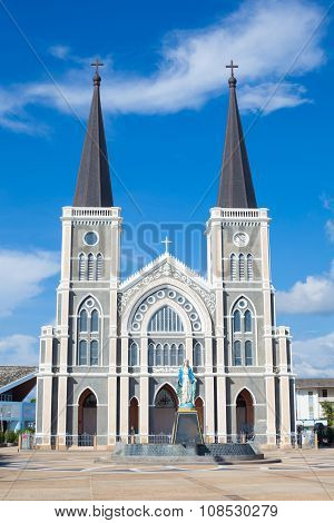 The Catholic Church Of Chanthaburi In Thailand