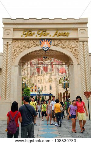 Far Far Away in Universal Studios Singapore