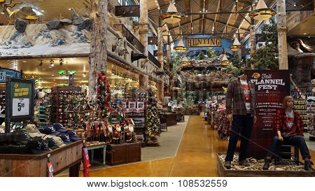 Bass Pro Shop at Silverton Hotel in Las Vegas