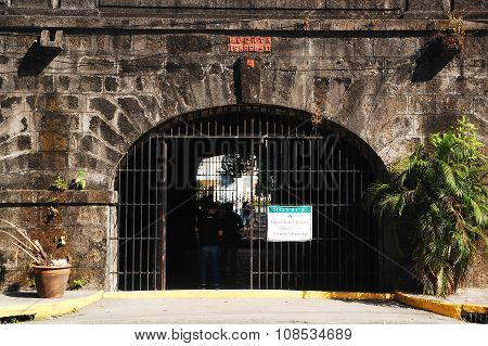 Puerta Isabel Gate in Intramuros, Manila, Philippines