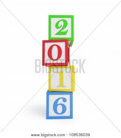Alphabet Box 2016 New Year's