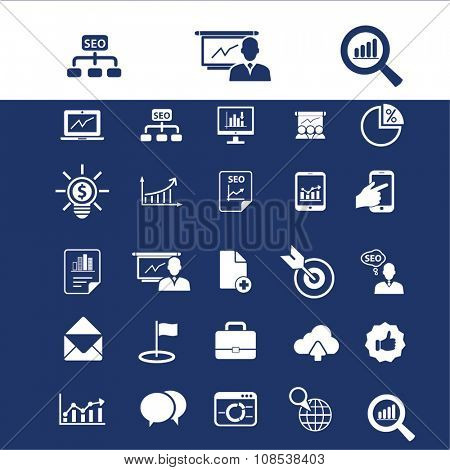 economics, market analytics  icons, signs vector concept set for infographics, mobile, website, application