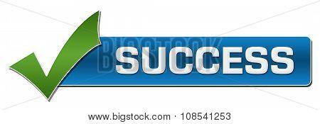 Success With Green Tickmark