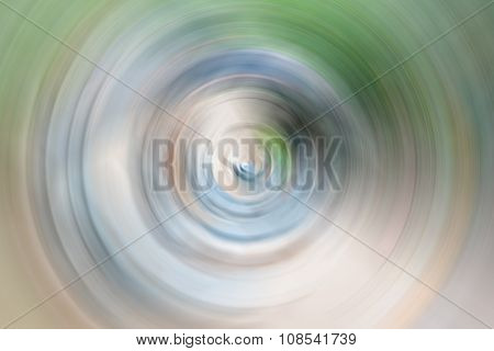 Abstract Radial Blur Outdoor Background