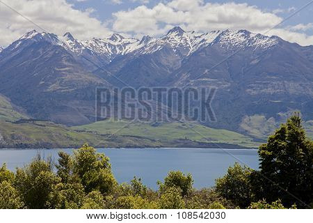 Mountains in New Zealand