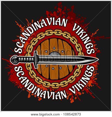 Viking emblem and logo