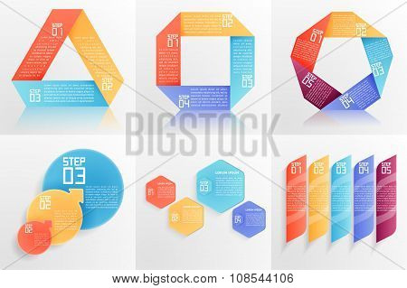 Set Of Business Templates.