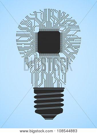 Computer Light Bulb