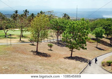 Tagaytay Highlands Golf Course in Cavite, Philippines