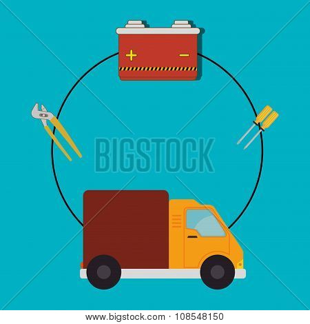 Transport, vehicle and delivery