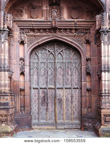 Chester Cathedral Door