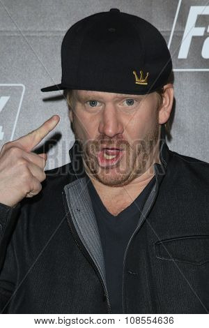 LOS ANGELES - NOV 05:  Dash Mihok at the Fallout 4 video game launch  at the downtown on November 05, 2015 in Los Angeles, CA