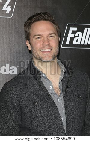 LOS ANGELES - NOV 05:  Scott Porter at the Fallout 4 video game launch  at the downtown on November 05, 2015 in Los Angeles, CA