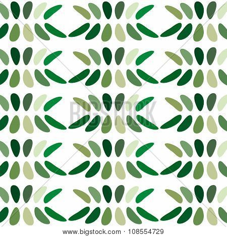 Green abstract background venchurny