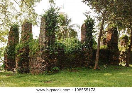 Old Church Ruins in Camiguin, Philippines