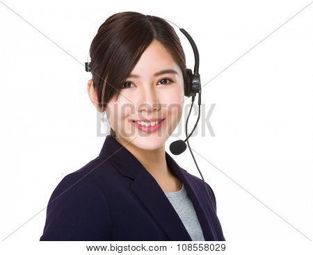 Professional customer services operator