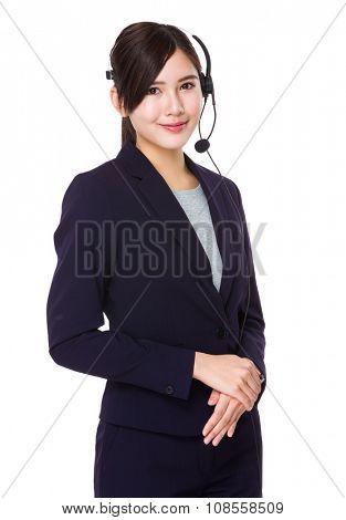 Professional customer services representative