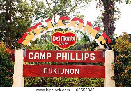 Del Monte Camp Phillips in Bukidnon, Philippines
