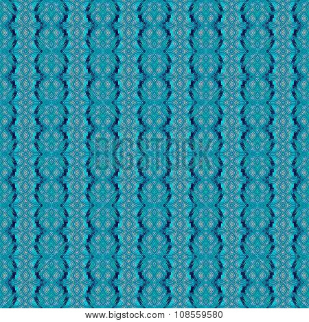 Seamless pattern turquoise blue