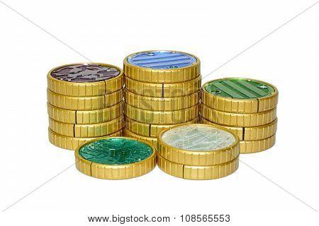 Toys coin transform