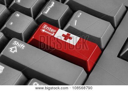 Enter Button With Tonga Flag