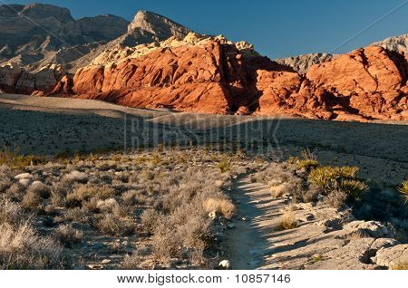 Red Rock Canyon Pathway