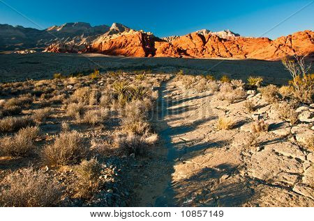 Red Rock Canyon Path