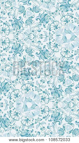 Abstract seamless tradition wedding pattern