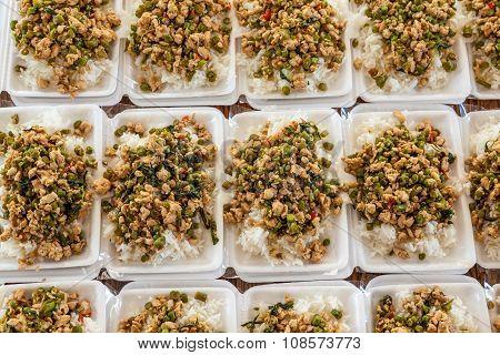 Thai Food In Box
