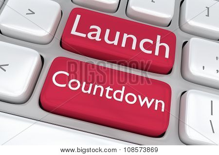 Launch Countdown Concept